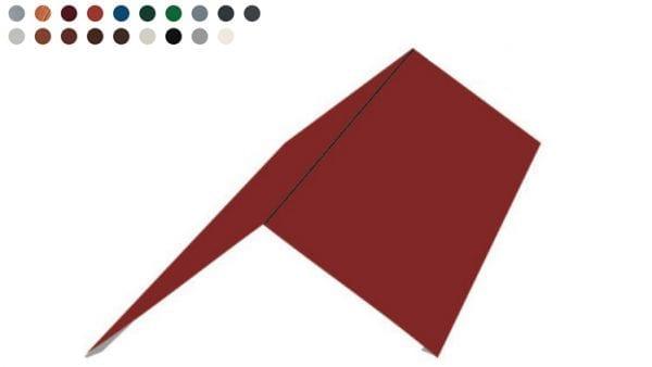 Einfacher First - Flachfirst 200-200 -Farben