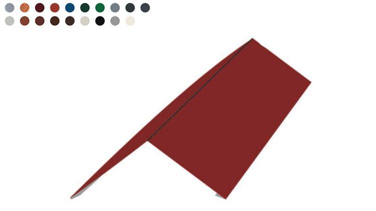 Einfacher First - Flachfirst -Farben