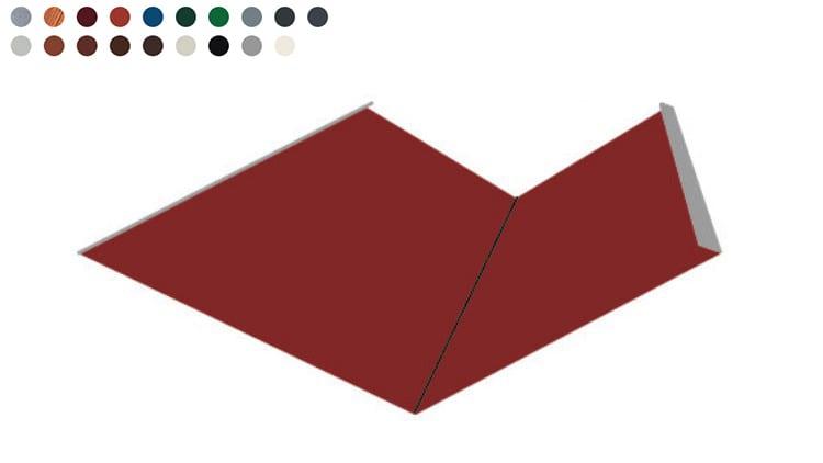 Kehlrinne -Farben