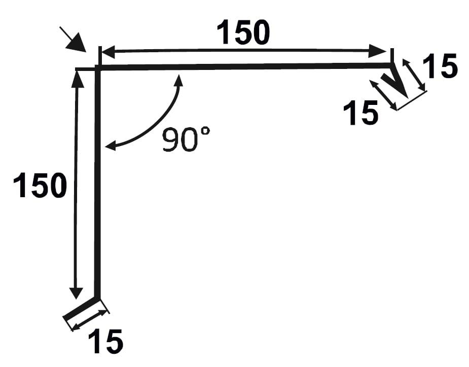 Ortgangblech-150-150-Technische-Zeichnung