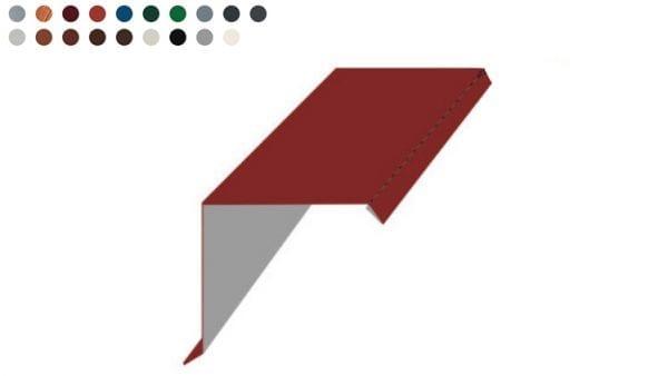 Ortgangblech -Farben