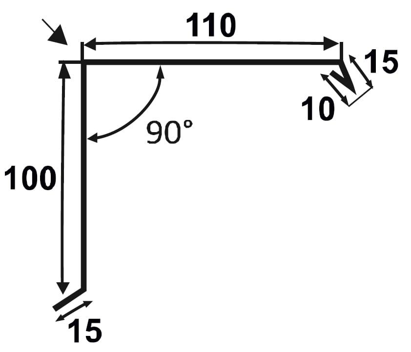 Ortgangblech-Technische-Zeichnung