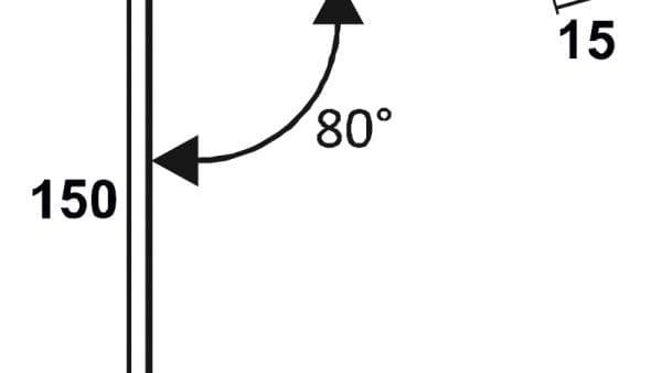 Pultdachfirst-150-150-Technische-Zeichnung