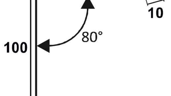 Pultdachfirst-Technische-Zeichnung