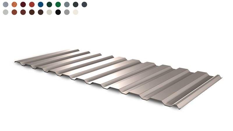 Trapezblech Dach 14-112 – T14