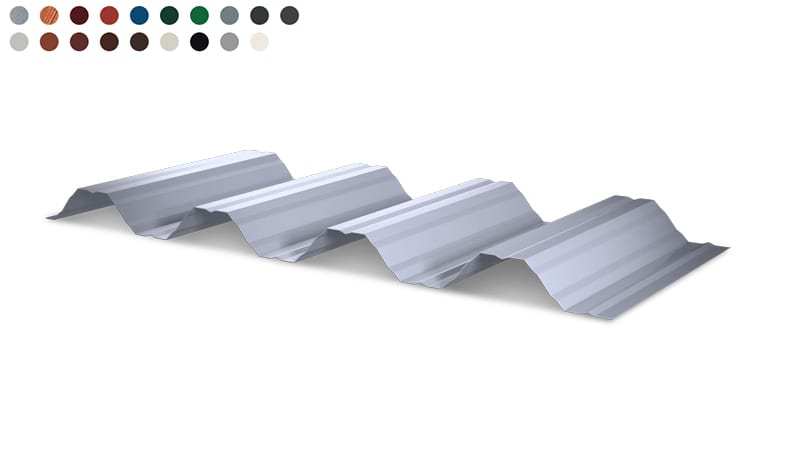 Trapezblech Wand 60-250 – T60P