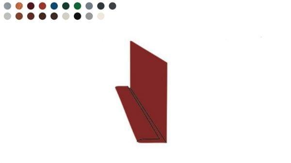 Unteres Traufblech - Rinneneinlaufblech -Farben