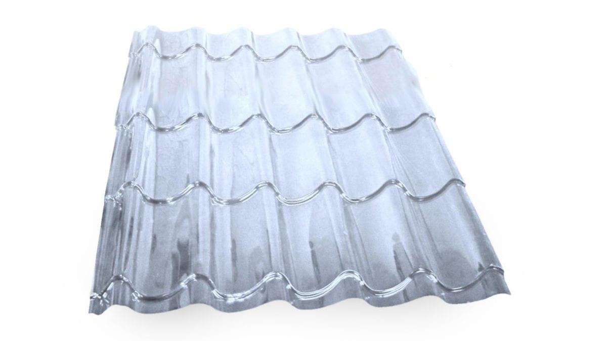 Dachpfannen Lichtplatte Saphir