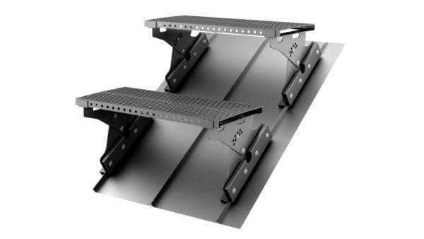 Laufrost für Dachpaneele Set