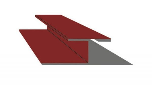 Trennleiste-Fassade