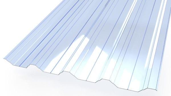 GFK T50P Lichtplatte 1,00 mm