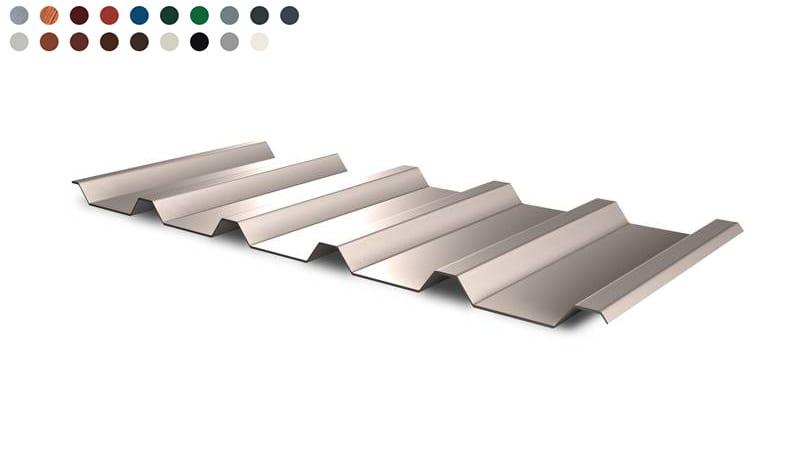 Trapezblech Dach 35 210 – T35e