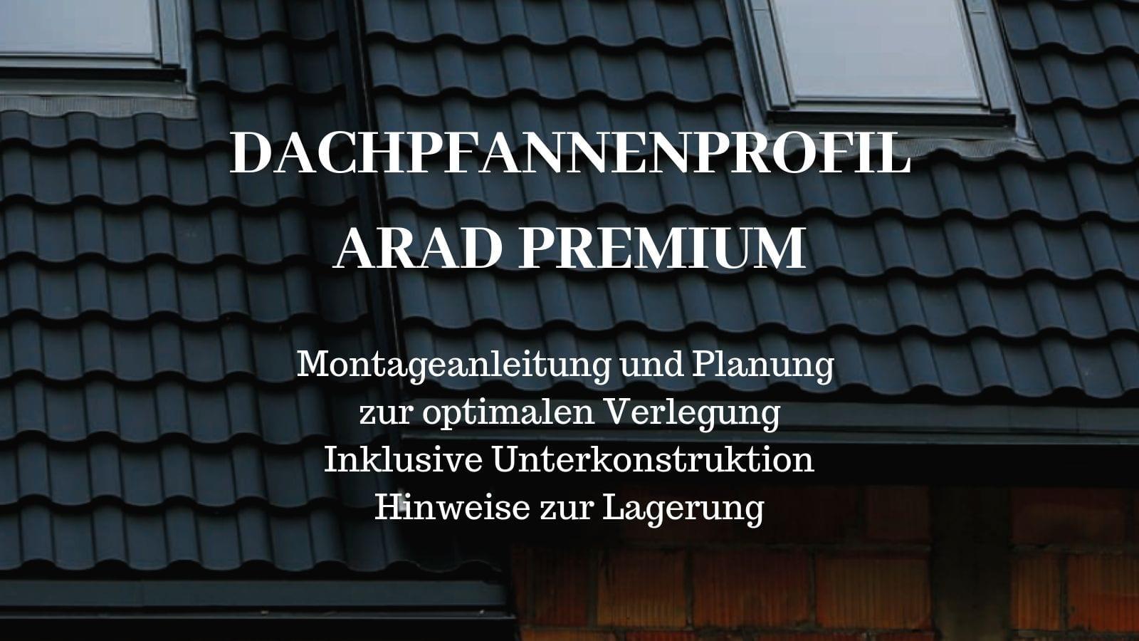 Dachpfannenprofil Arad Passende Verlegeanleitung Und Montageanleitung
