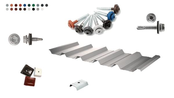 Carport Bausatz Dach Metall