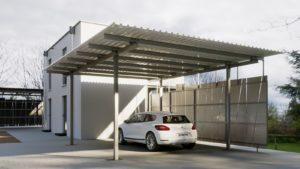 Carport Bausatz Mit Lichtplatten