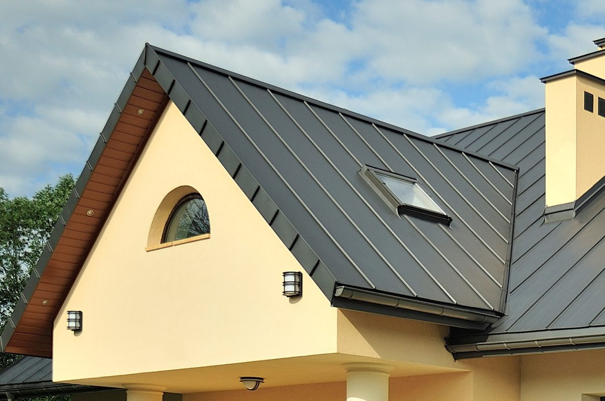 Stefahlzblech Dach Trapez