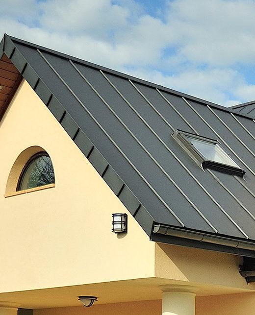 Stehfalzblech Dach Trapez1